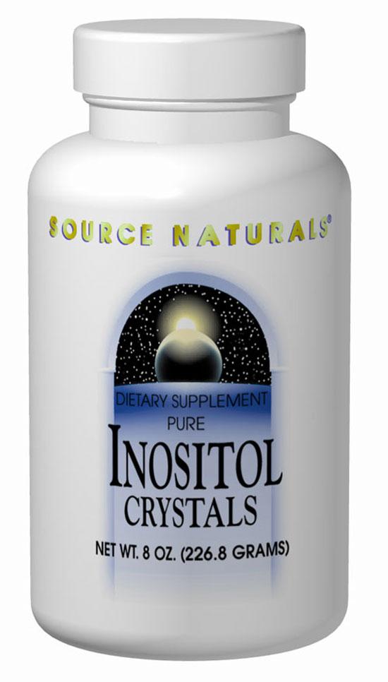 Source Naturals Inositol Pure 600 mg 8 oz. Crystals 8 Crystals