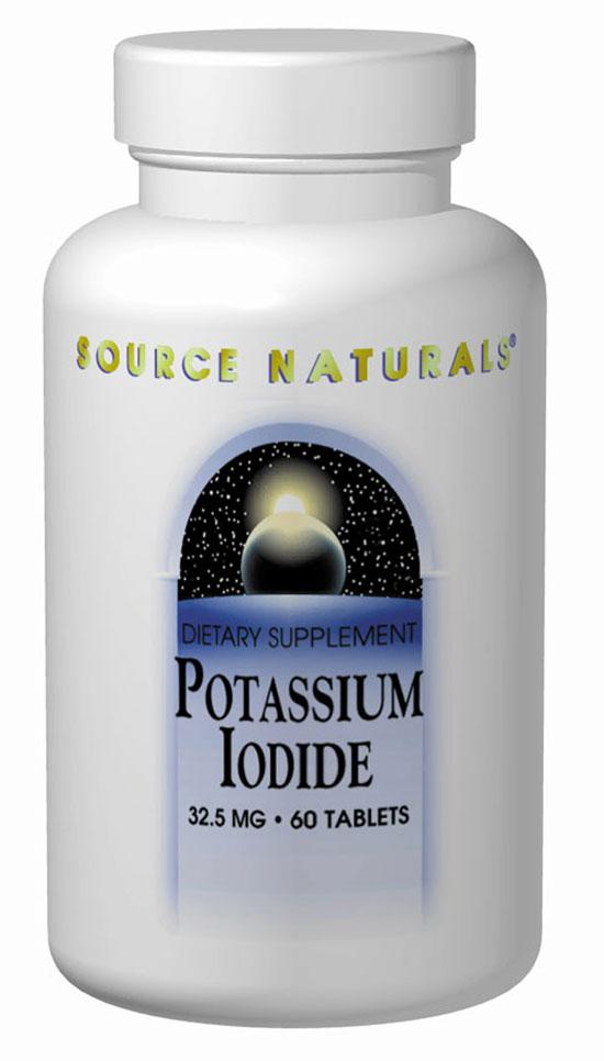 Source Naturals Potassium Iodide 32 5 Mg 120 Tablet 120 Tablet