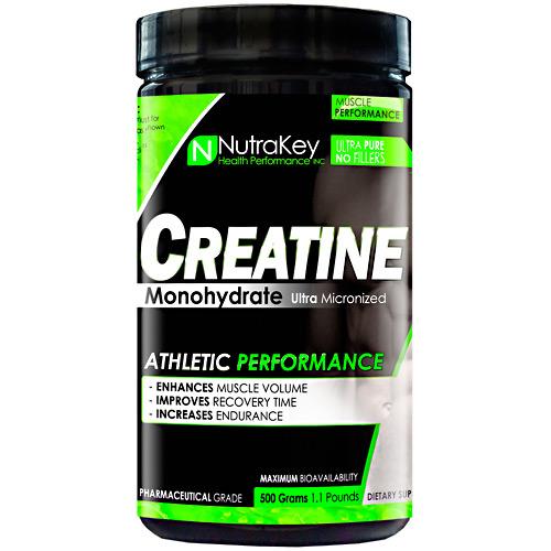 Nutrakey Creatine Monohydrate, 500g 500 grams