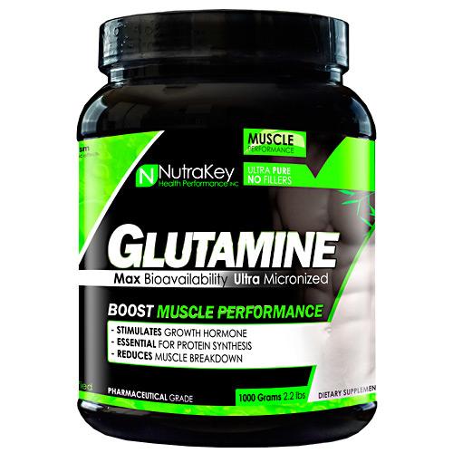 Nutrakey L-Glutamine, 500g 1000 grams