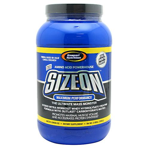 Gaspari Nutrition SizeOn, Arctic Lemon Ice 3.49 lbs. (1584 g)