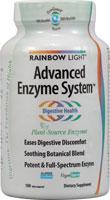 rainbow light advanced enzyme system 180 cap vegi. Black Bedroom Furniture Sets. Home Design Ideas