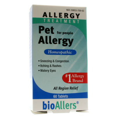 Natra Bio Botanical Labs Bioallers Pet Allergy For People