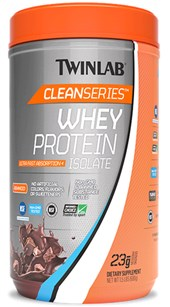 Twinlab Clean Series Whey Protein Isolate Chocolate 1 5 Lb
