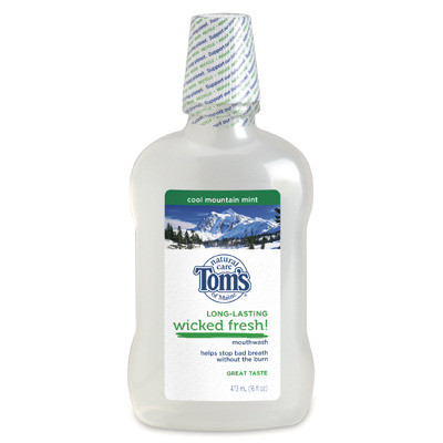 Tom S Of Maine Wicked Fresh Cool Mountain Mint Natural Mouthwash