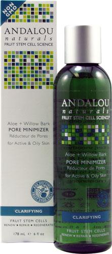Andalou Naturals Aloe Plus Willow Bark Pore Minimizer - 6 Oz, 6 Pack (3 Pack) Dr. Jart+ Dermask Intra Jet Wrinkless Solution