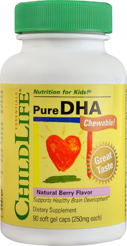 Childlife Pure DHA 250mg 90 Softgel