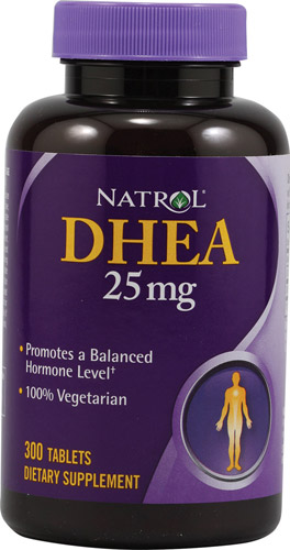 Natrol Dhea 25mg 300 Tablet