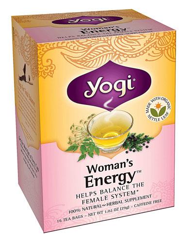 Yogi menstrual tea