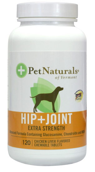 Pet naturals of vermont hip and joint