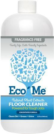 Eco Me Floor Cleaner Fragrance Free 32 Oz